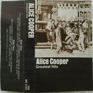 alice cooper show & greatest hits 2 cassettes